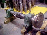 Herringbone Pinion Ready for Reverse Engineering