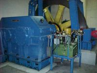 Installation of Hamilton Gear reducer on hoist in Mexico