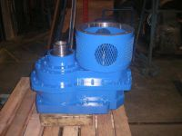 Force feeder gear drive