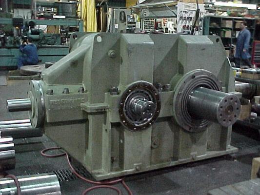 Standard Machine - Certified Gear Reducer Rebuild Program