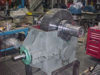Rebuilt Steel Mill Gear Drive