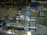 Complete rebuild and modification of 1500 H.P. sizer drive for Tar Sands industry