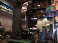 Milling of large profiling ring used in Jet Engine Manufacturing
